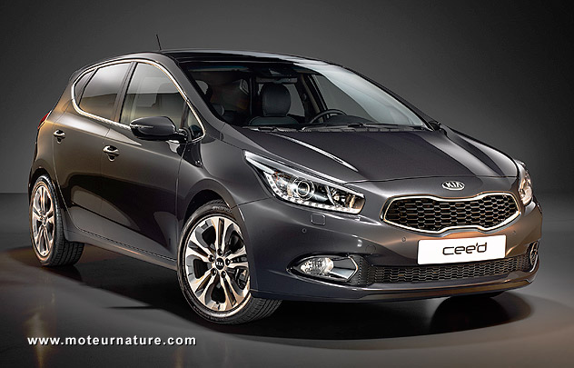 will there be a hybrid version of the new kia cee 39 d motornature cars for green drivers. Black Bedroom Furniture Sets. Home Design Ideas