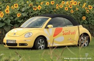 Volkswagen Beetle diesel running on Sunfuel
