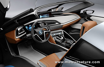 BMW-i8-concept-Spyder-plug-in hybrid