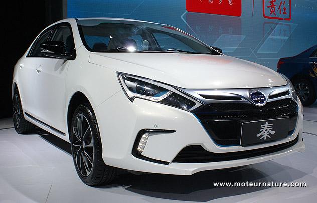 BYD Qin plug-in hybrid