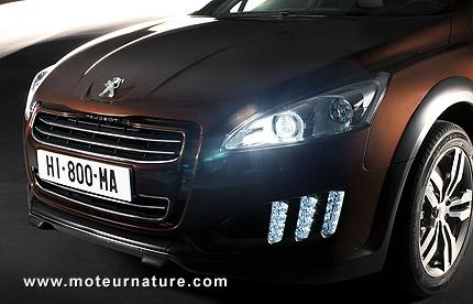 Peugeot-508-RXH diesel hybrid