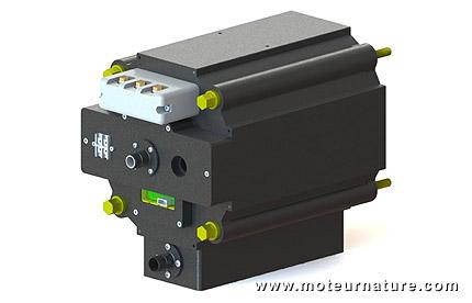 AC Propulsion electric motor