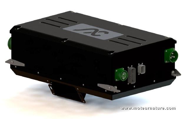 AC Propulsion electric inverter