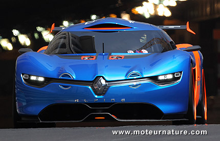 Renault Alpine A110 50 sports car concept