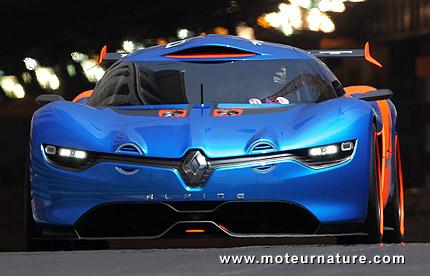 Renault Alpine A110 50 sports car concept