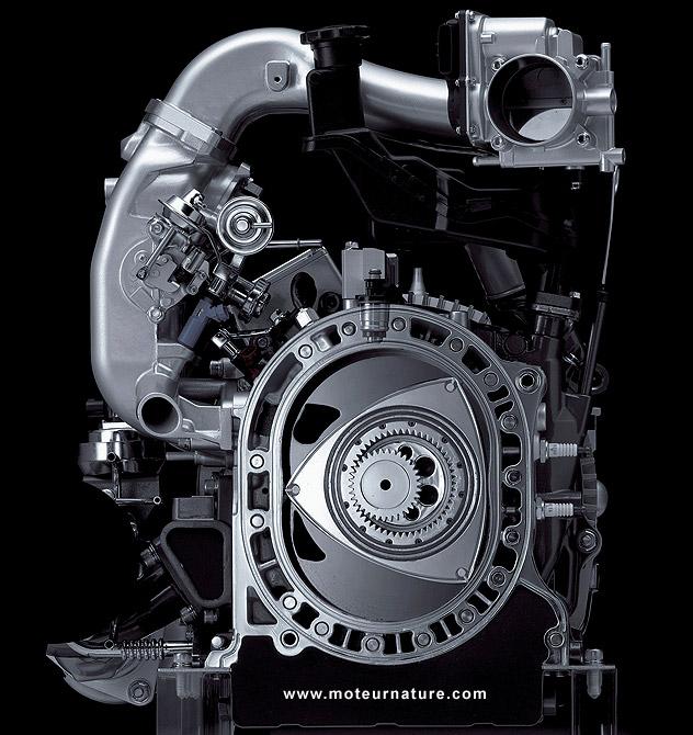Mazda-Renesis rotary engine