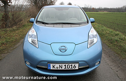 The Nissan Leaf, best-selling electric car in the history of the ...