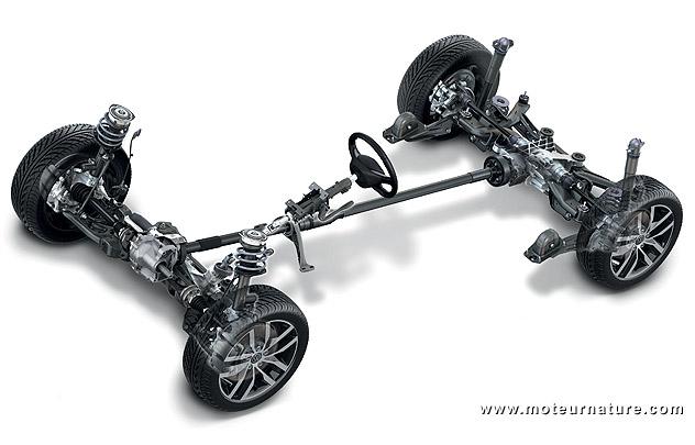 Volkswagen Golf 4MOTION schema