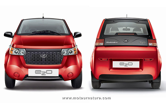 Mahindra e2o, the Indian electric car