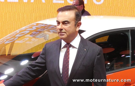 Carlos Ghosn, Renault's CEO