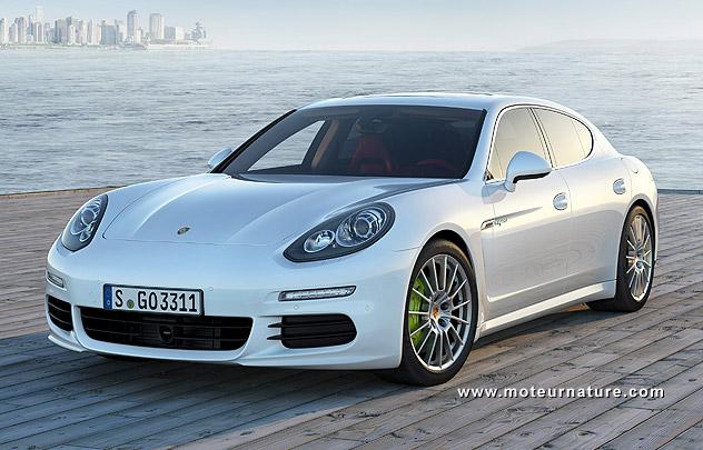 Porsche Panamera S E-Hybrid plug-in