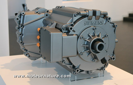 Volvo C30 electric motor from Siemens