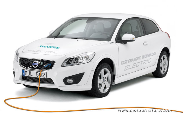 Volvo C30 electric prototype