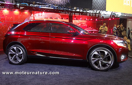 Citroen DS Wild Rubis plug-in hybrid concept car