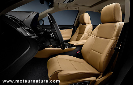 Lexus GS300h hybrid luxury sedan