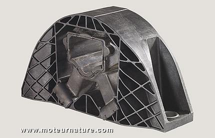 ZF plastic engine mount
