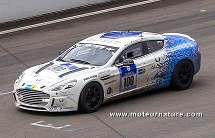 Aston Martin Rapide hydrogen with Alset technology