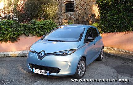 Electric Renault Zoe