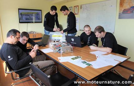 Rimac development team
