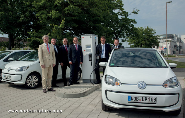 Volkswagen E-Up Combo CCS charger