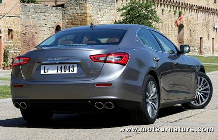 Maserati-Ghibli diesel luxury sports sedan