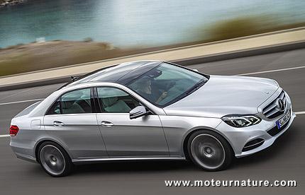 Mercedes E350 Bluetec 9G-Tronic