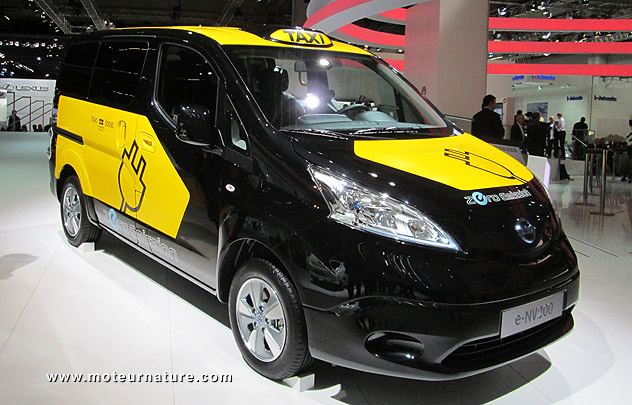 Nissan e-NV200 electric taxicab