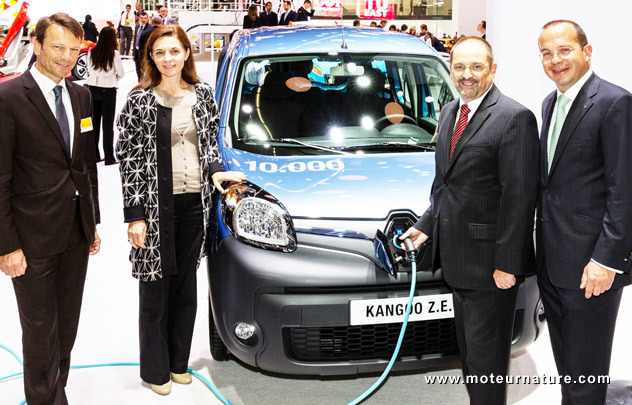 Electric Renault Kangoo ZE