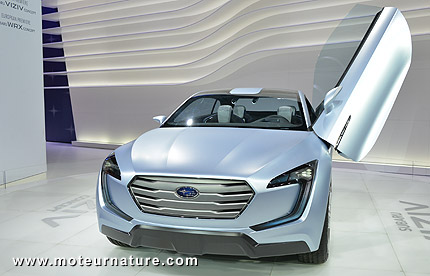 Subaru Viziv diesel hybrid  concept