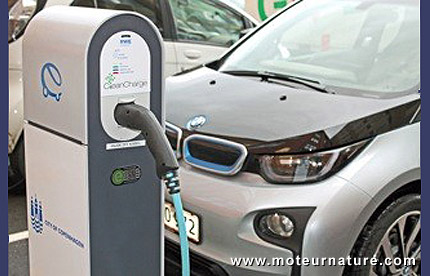 CleanCharge station in Denmark