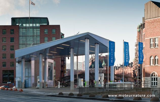 Hamburg hydrogen station