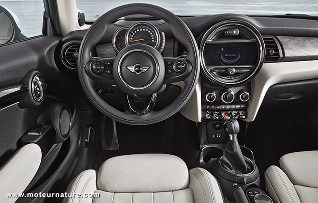 New Mini interior