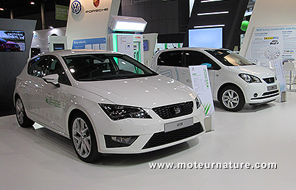 Seat cars at the EVS27