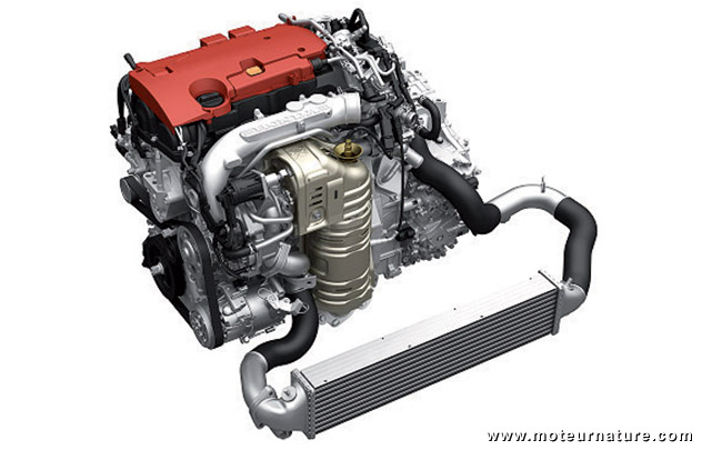 Honda Civic VTEC turbo engine
