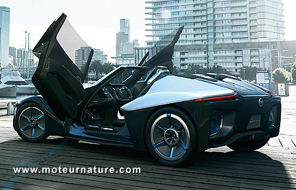 Nissan BladeGlider electric concept-car