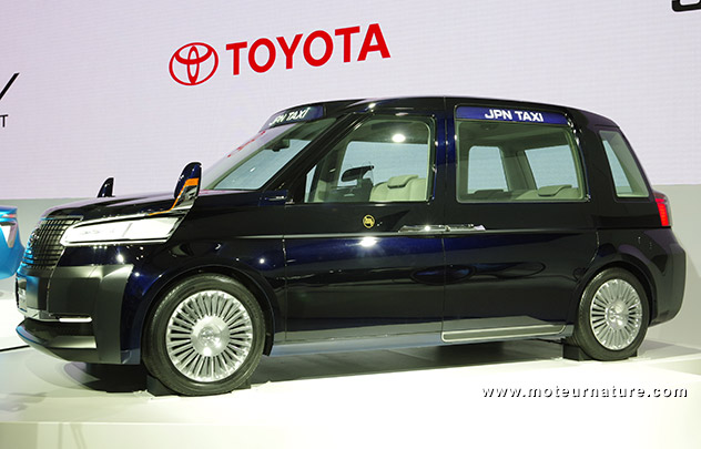 Toyota hybrid taxi concept
