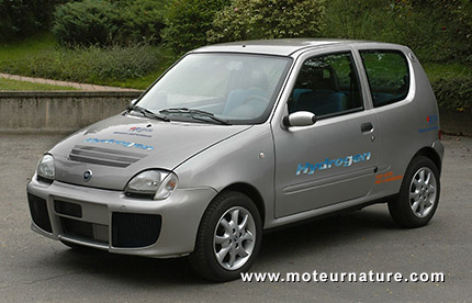 Fiat Seicento Fuel Cell electric