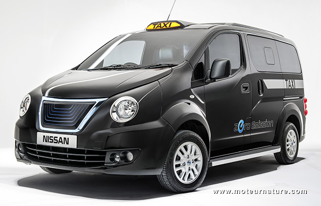 Nissan eNV200 London taxicab