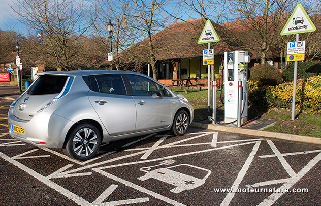 1000th charging station installed by Nissan