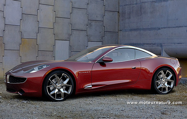 Concept Fisker Sunset plug-in hybrid