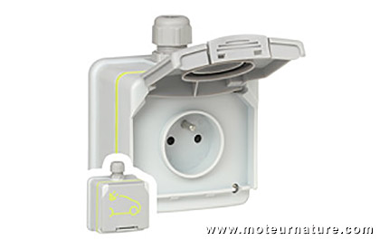 Green'Up Access socket from Legrand