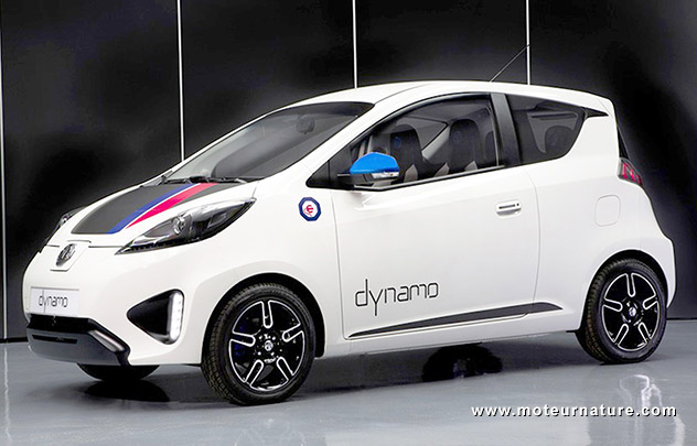 MG Dynamo electric car concept