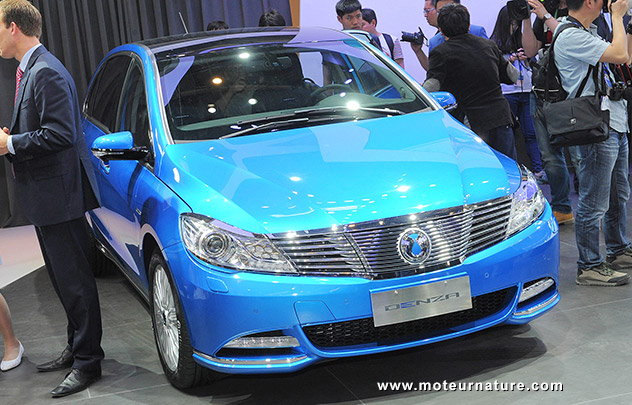 Denza electric car