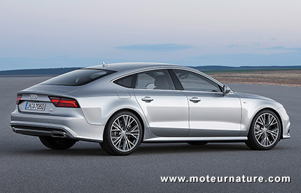 The Audi A TDI Ultra Meet The Mpg Luxury Sports - Audi a7 mpg