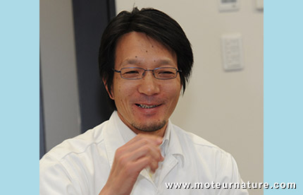 Keiji Otsu, chief Honda engineer
