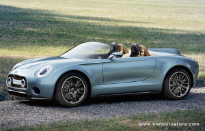 Mini Superleggera electric concept