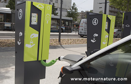 Citelib charging station in Grenoble