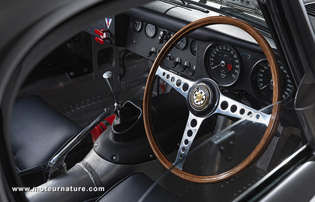Jaguar Lightweight E-Type interior