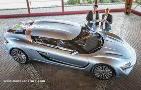 Quant e-Sportlimousine with nanoFLOWCELL technology