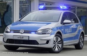 Volkswagen-e-Golf-polizei